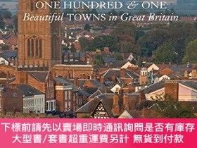 二手書博民逛書店One罕見Hundred & One Beautiful Towns Of Great BritainY255