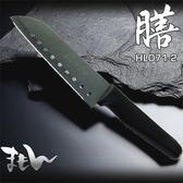不沾黏 九孔犀利廚刀 料理刀 菜刀《SV7014》快樂生活網