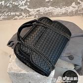 草編包 大容量包包女包2020網紅新款潮時尚編織斜背包百搭ins側背小方包 愛麗絲