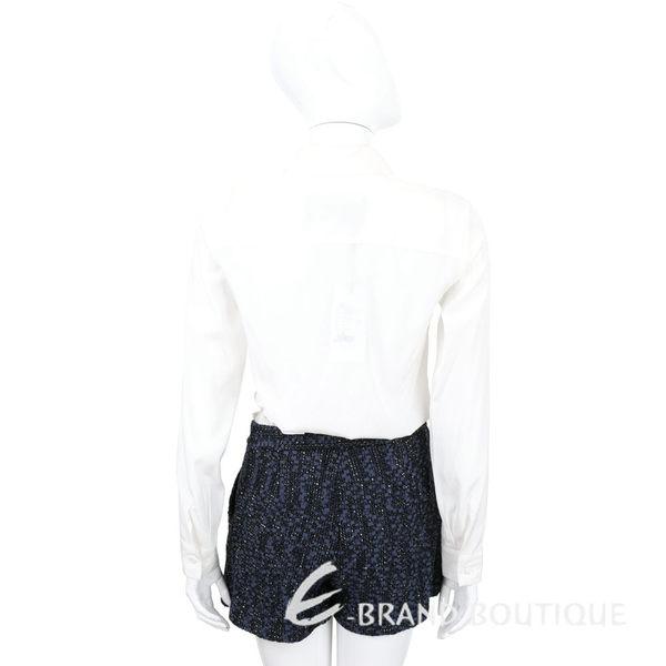 Christian Pellizzari 白x藍色毛呢連身褲裝 1540192-77