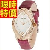 鑽錶-華麗唯美潮流鑲鑽女腕錶5色62g8【時尚巴黎】