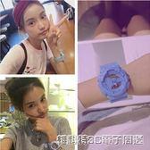 手錶軟妹女學生韓版簡約潮流ulzzang原宿數字式電子錶 全館免運