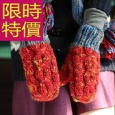 手套 針織-自信日系禦寒羊毛女手套3色63m35[巴黎精品]