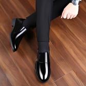 皮鞋 2020春夏新品男士皮鞋男鞋休閑商務正裝皮鞋內增高防水工作鞋婚鞋 歐歐