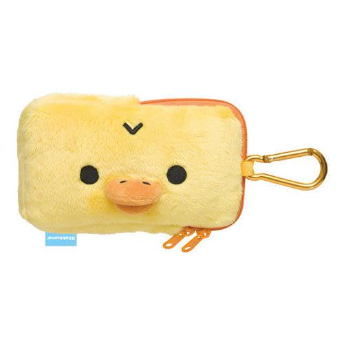 拉拉熊數位配件系列吊掛毛絨手機套。小雞