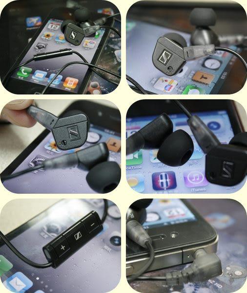 經典數位~德國Sennheiser入耳式機皇IE8i可調式超重低音~支援Apple全系列機型