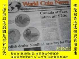 二手書博民逛書店World罕見Coin News(Vol.18,No.12)(J
