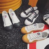 帆布鞋-情侶鞋-復古熱銷街頭潮流男女休閒鞋3色73no35[巴黎精品]