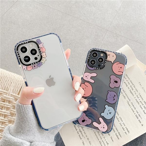 iPhone12 蘋果手機殼 預購 可掛繩 無尾熊貓咪兔兔 矽膠軟殼 i11/iX/i8/i7/SE