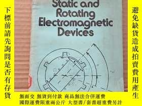 二手書博民逛書店static罕見and rotating electromagnetic devices(P592)Y1734