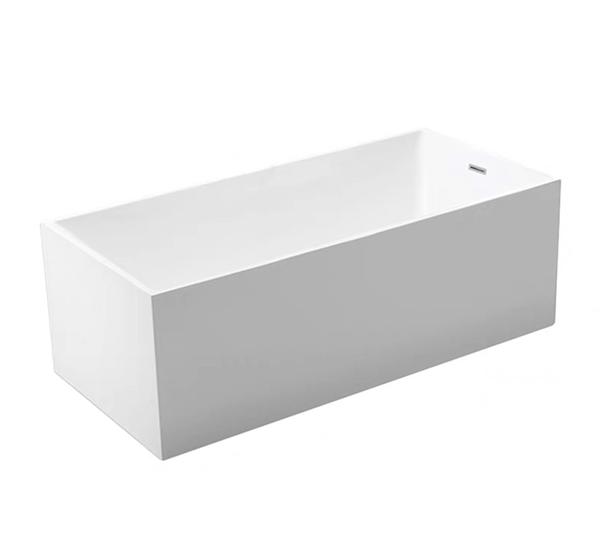 【麗室衛浴】國產 LS-0162 多款尺寸 無接縫全平獨立壓克力浴缸 108*60*56cm
