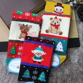 韓國 繽紛聖誕樹  四分襪 可愛搭配 4款樣式 歡慶聖誕節