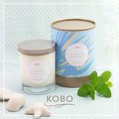 【KOBO】美國大豆精油蠟燭 - 冰涼薄荷-330g/可燃燒80hr