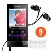 【曜德↘狂降】SONY NWZ-F804 黑色 8GB 數位隨身聽 觸控螢幕 / 宅配免運 / 送EX20LP+行動電源