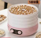 乾果機小熊干果機家用小型食品烘干機水果蔬菜寵物肉干食物風干機脫水機  LX春季新品