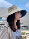夏天漁夫帽女遮臉韓版防曬紫外線遮陽帽子大沿潮百搭日系夏季時尚 傑森型男館