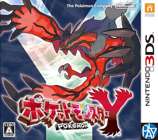 3DS-神奇寶貝Y 日文版 新品 PLAY-小無電玩