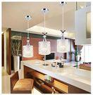 吊燈 現代簡約餐廳吊燈三頭個性創意田園飯廳燈led單頭吧台臥室吊燈具RM