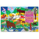 eeBoo 美國益智桌遊 48片拼圖 – 森林動物 Woodland Animals