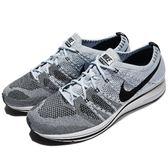 【六折特賣】Nike Flyknit Trainer Cirrus Blue 藍 白 飛線編織 慢跑鞋 男鞋 運動鞋【PUMP306】 AH8396-400