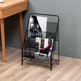 全館88折-雜誌架北歐鐵藝創意簡約時尚移動書架辦公室客廳落地雜志架收納架wy