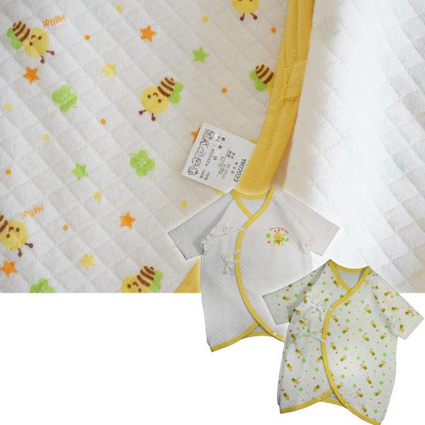 (二件組)秋冬保暖寶寶蝴蝶衣 三層棉 寶寶蝴蝶衣 連身衣 新生兒服(50~70) 紗布衣 兔裝【GB0023】
