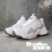 SKECHERS Dlites 3.0 Zenway 灰粉 皮革 麂皮 老爹鞋 休閒鞋 女 (布魯克林) 2019/1月 12955WGPK