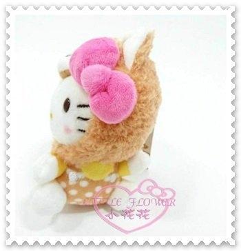 ♥小花花日本精品♥ Hello Kitty 2018年 狗年 變裝絨毛娃娃吊飾 吊偶 小布偶 柴犬造型 50119707