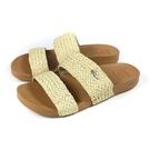 reef 雙帶拖鞋 戶外 棕/黃 編織 女鞋 RF0A520AVIN no416