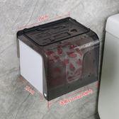 免打孔抖音紙巾架卷紙架衛生間紙巾盒廁所衛生紙盒衛生紙架抽紙盒 sxx2429 【雅居屋】