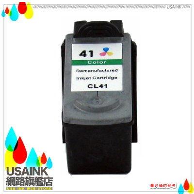 USAINK~CANON CL41/CL-41 彩色環保墨水匣 iP1200/iP1300/iP1700/MP150/MP160/MP180/MP450/MX308/318
