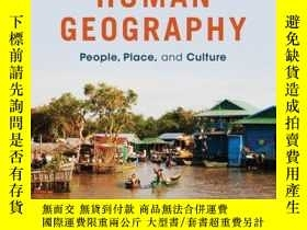 二手書博民逛書店Human罕見Geography: People, Place, and Culture, 11th Editio