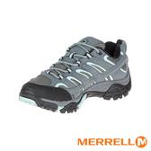 MERRELL GORE-TEX防水透氣 MOAB 2 多功能防水登山健行鞋 淺灰湖水綠 ML06036 女鞋
