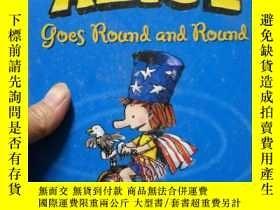二手書博民逛書店Mighty罕見Alice Goes Round and Rou