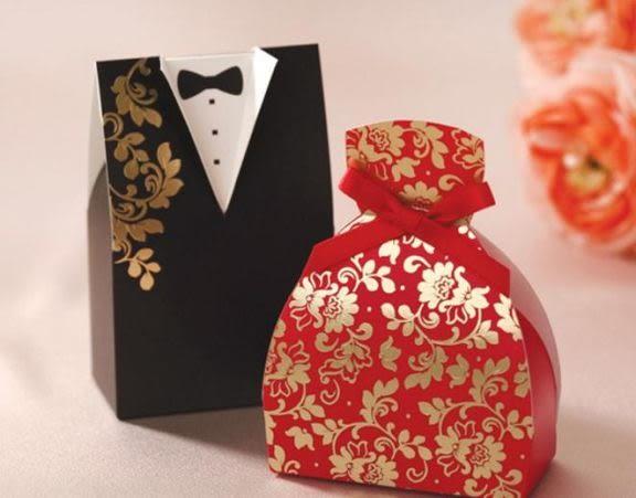 娃娃屋樂園~韓國設計師.設計-新郎新娘禮服-CW04喜糖盒 100個1500元/婚卡/婚禮小物/送客喜糖/喜帖
