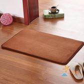地毯珊瑚絨門廳臥室床邊腳墊門口吸水門墊 廚房地墊 衛浴墊子【下標選換運送可超取】