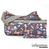LeSportsac - Standard側背水餃包/流浪包-附化妝包(團圓) 7520P F340