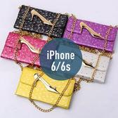 iPhone 6 / 6S 高跟鞋錢包三折皮套 插卡 側翻皮套 手機套 手機殼 保護套 保護殼 配件