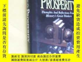 二手書博民逛書店英文原版罕見Thoughts on Prosperity: Thoughts and Reflections Fr