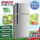 【SANLUX台灣三洋】533L雙門直流...
