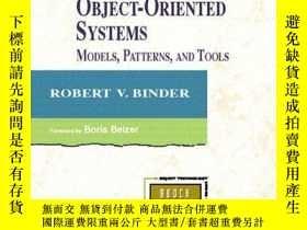 二手書博民逛書店Testing罕見Object Oriented SystemsY256260 Binder, Robert