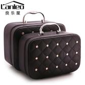 大容量化妝品韓版收納包旅行可愛手提箱便攜大小號簡約迷你化妝包 鉅惠85折