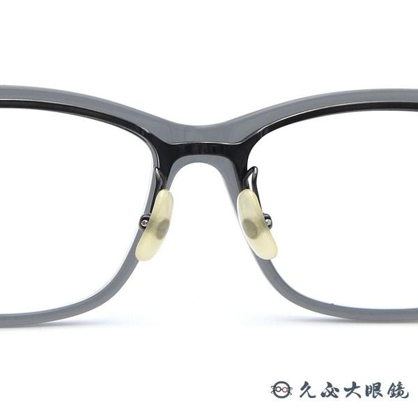 999.9 日本神級眼鏡 NPM55 8812 (透灰) 翻轉式鏡架 近視眼鏡 久必大眼鏡