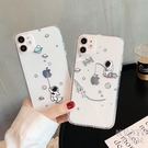 卡通宇航員適用iPhone12/mini/11/pro/max手機殼蘋果 【快速出貨】
