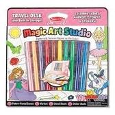 書立得-《美國 Melissa & Doug》神奇圖畫創作包:粉紅色(MD5500)