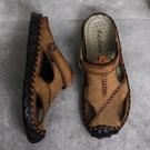 兩用拖鞋男夏季男士涼鞋2021新款室外涼拖鞋外穿包頭開車潮流沙灘 依凡卡時尚