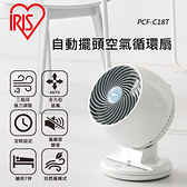 日本IRIS 自動擺頭空氣循環扇PCF-C18T