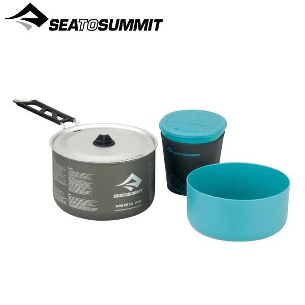 【Sea To Summit澳洲 Alpha折疊鍋具組1.1】STSAPOTACKSETSSI1.1/炊具/餐具/露營