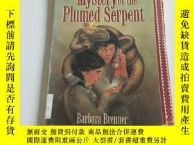 二手書博民逛書店mystery罕見of the plumed serpent(英