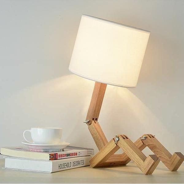 皮諾丘人形桌燈/H&D東稻家居
